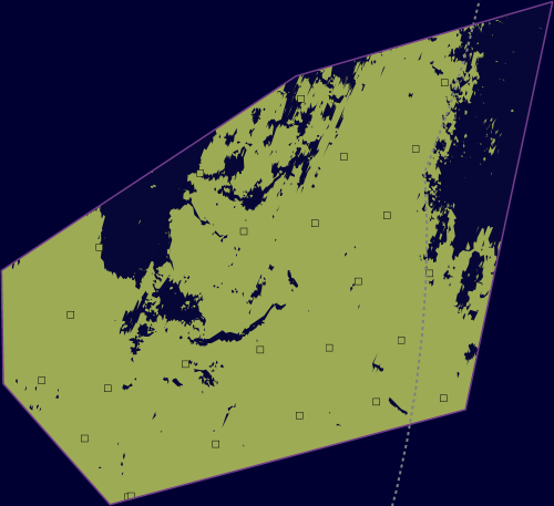 Map showing Orford Inshore Marine Protected Area and linking to the MPA mapper