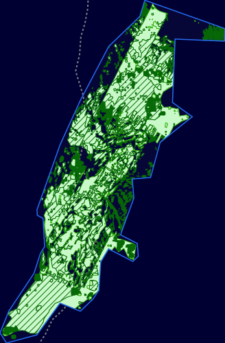 Map showing Pobie Bank Reef Marine Protected Area and linking to the MPA mapper