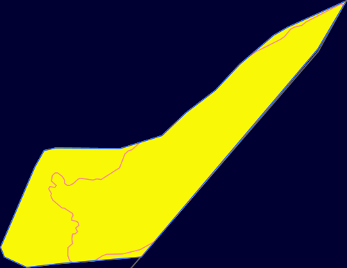 Map showing Bassurelle Sandbank Marine Protected Area and linking to the MPA mapper